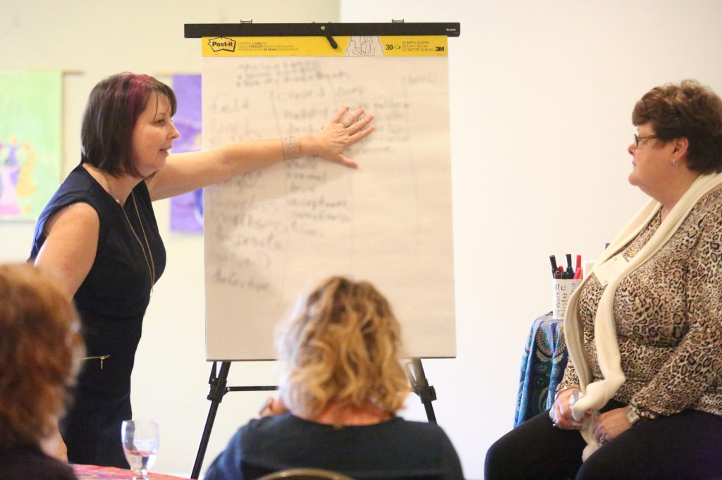 Julie teaching