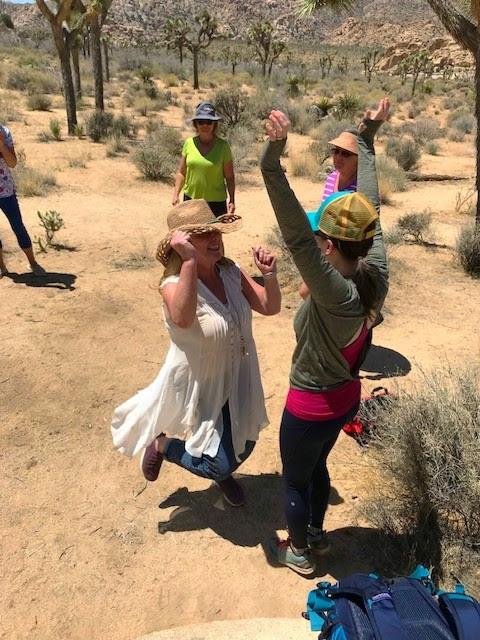 bonding in the desert