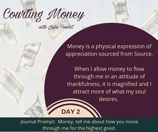 Courting Money - Day 2