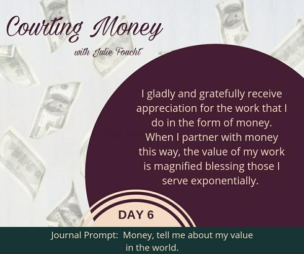Courting Money - Day 6
