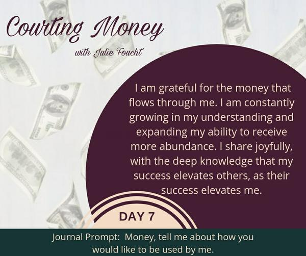 Courting Money - Day 7